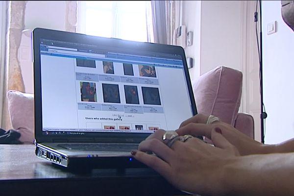 """Les photos des profils, """"volées"""" aux jeunes filles, étaient publiées sur des sites pornographiques, avec des propos dégradants (image d'illustration)"""