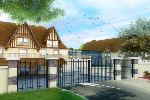 Le projet de résidence Trouville-Marine