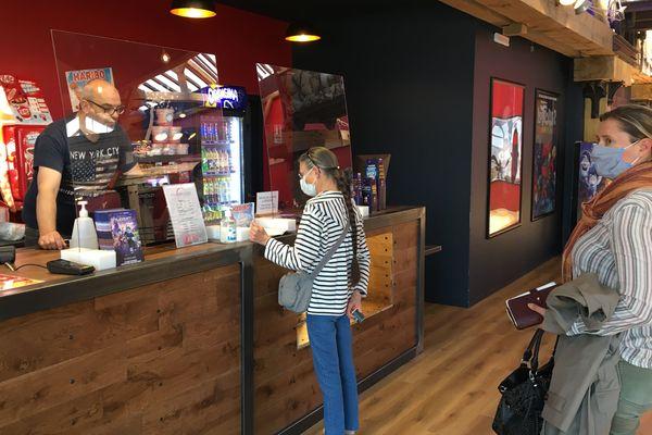 La première séance au cinéma à Dieppe