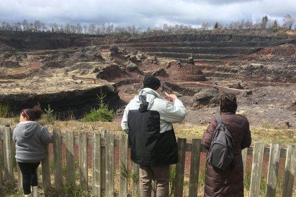 La carrière est désormais un site d'intérêt touristique et scientifique.