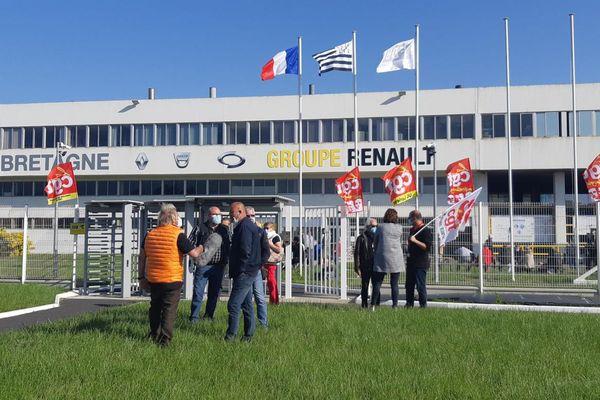 Fonderie de Bretagne à Caudan bloquée par les salariés