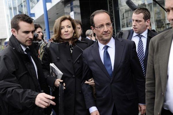 François Hollande à Rennes durant la campagne présidentielle
