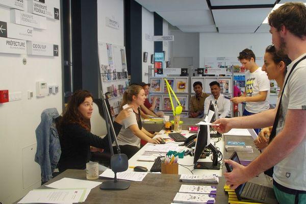 Depuis quatre ans, l'espace Welcome Desk accueille les étudiants pour toutes les formalités administratives.