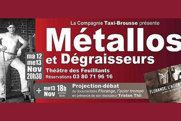 """""""Métallos et dégraisseurs"""" raconte l'histoire des ouvriers du haut-fourneau de Sainte-Colombe-sur-Seine, en Côte d'Or."""
