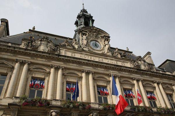 La mairie de Tours.