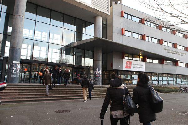 L'Université de Lille 2.