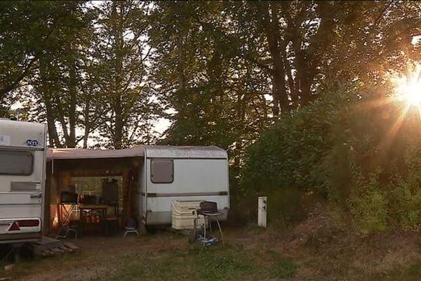 La vie au camping, au rythme du soleil...