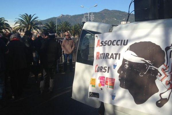 22/01/15 - Les retraités demandent des tarifs adaptés dans les transports à la cherté de la vie en Corse