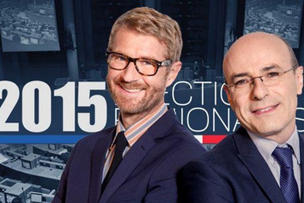 Thierrey Bézer et Henri Migout animeront la grande soirée électorale sur les antennes de France 3 Provence-Alpes et France 3 Côte d'Azur