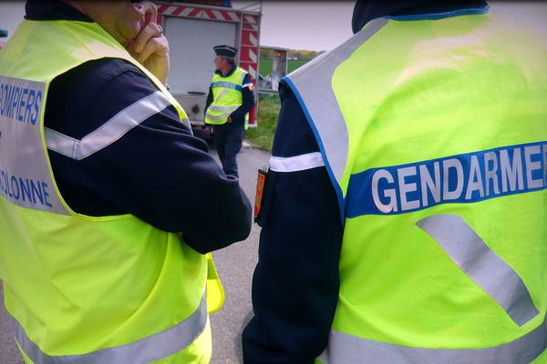 Pompiers et gendarmes de l'Eure en intervention - Archives
