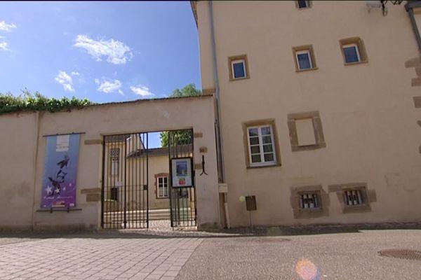 La maison de Robert Schuman à Scy-Chazelle (Moselle).