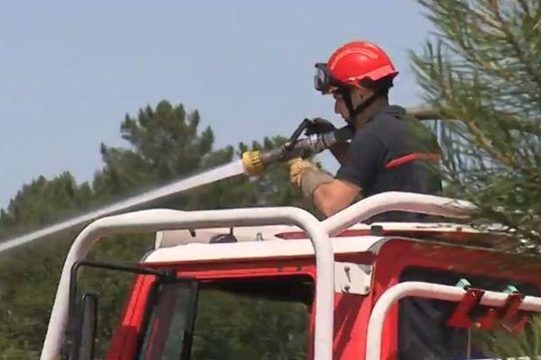 Plus de 5500 pompiers sont mobilisables en Gironde pour la lutte contre les feux de forêts