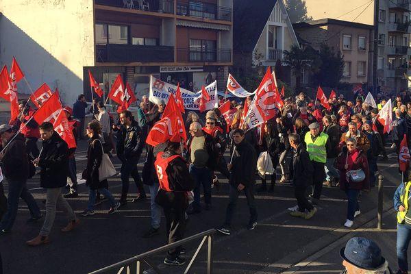 Manifestation du 5 décembre 2019 à Brive