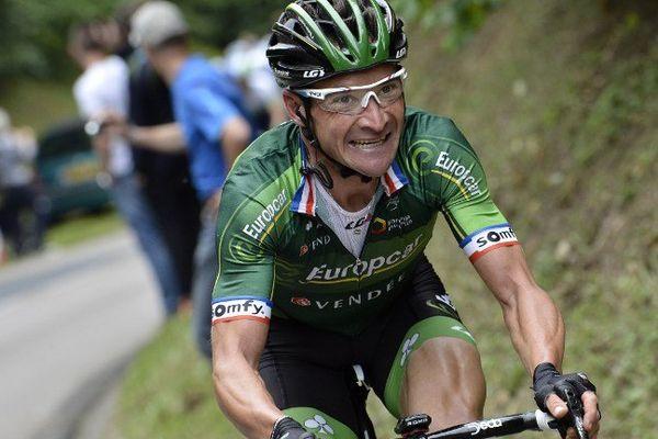 Le leader de l'équipe vendéenne Europcar a été rattrapé par deux Bretons.