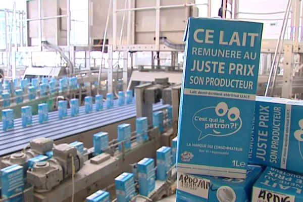 Cette brique de lait, vendue à 0,99 euros, a permis de sauver des dizaines d'exploitations agricoles
