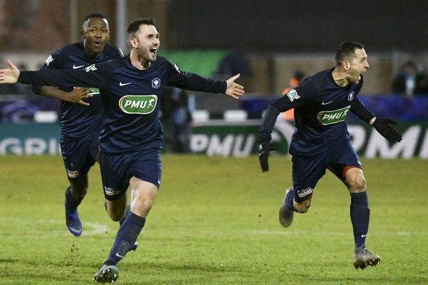 Magnifique performance de Belfort face à Montpellier.
