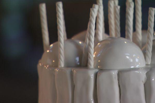"""Une expo """"gâteaux de porcelaine"""" au four des Casseaux de Limoges"""