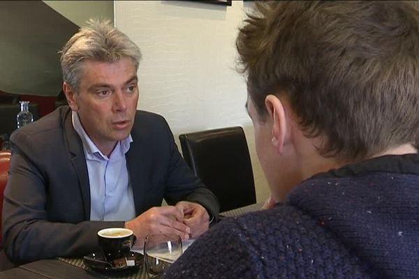 Sébastien Jumel, maire (PCF) de Dieppe et candidat dans la 6e circonscription de Seine-Maritime, satisfait de l'accord avec les Insoumis