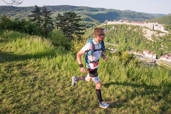 Trail des Forts à Besançon