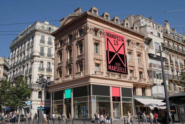 Manifesta 13 a établit son quartier général sur la Cannebière, dans un bâtiment emblématique qui n'est autre que l'ex Espace Culture.