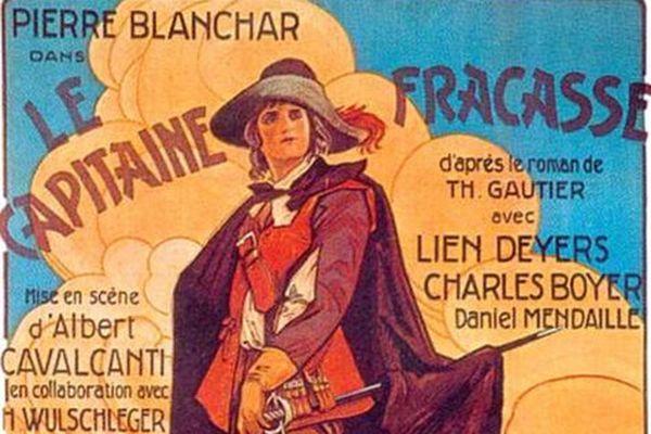 En 1928, le tournage d'un des tout premiers films en Dordogne, le Capitaine Fracasse