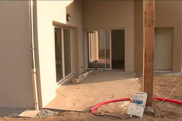 Plusieurs logements adaptés aux personnes à mobilité réduite sont en construction dans le village de Cieux.