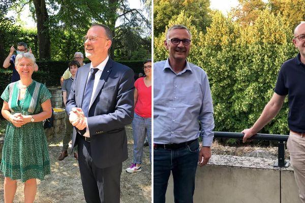 Les électeurs vont désormais devoir choisir entre l'union de gauche et celle de droite pour le second tour des élections municipales à Bourges (Cher)