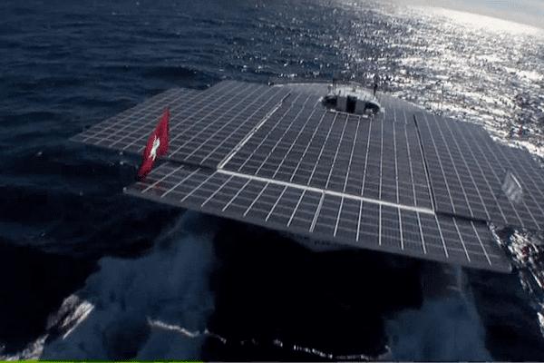 Le PlanetSolar, est le plus grand bateau solaire du monde