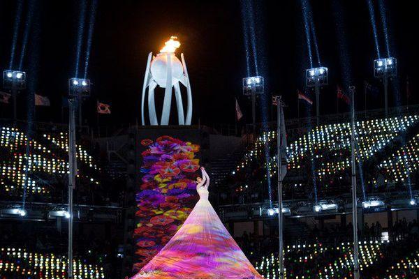 La cérémonie de clôture des Jeux Paralympiques à Pyeongchang dimanche 18 mars 2018.