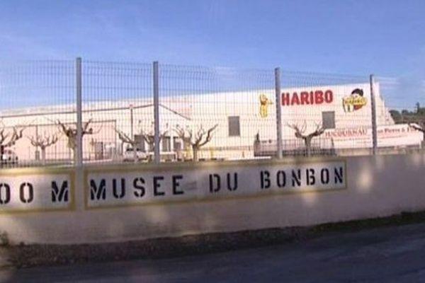 L'usine Haribo d'Uzès, dans le Gard