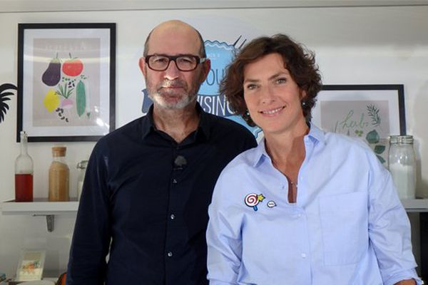 Eric Geoffroy et Sophie Menut