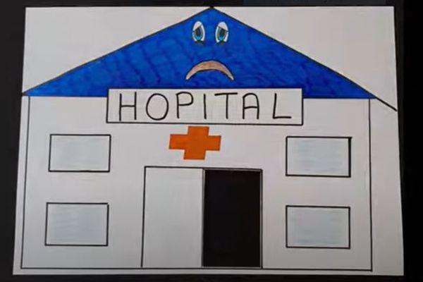 Dessin extrait du clip réalisé par la CGT du CHU de Nîmes pour dénoncer les conditions de travail du personnel hospitalier - 27/09/2021