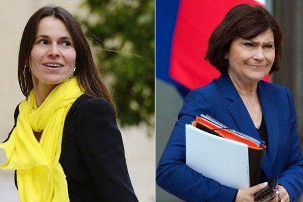 Marie-Arlette Carlotti et Aurélie Filippetti