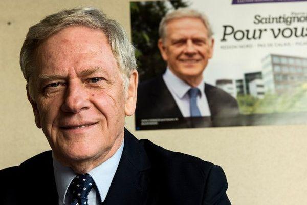 Pierre de Saintignon, candidat PS aux régionales en Nord Pas-de-Calais / Picardie