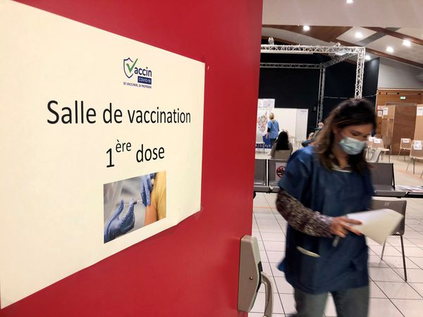 Le centre de vaccination de Lupinu, où arrivera la navette.