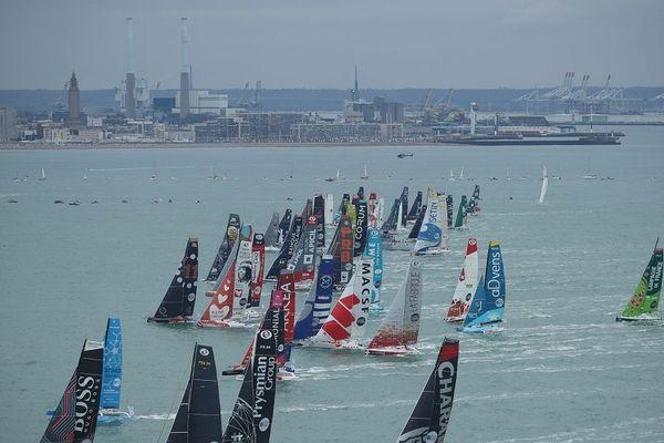 Départ de la Transat Jacques Vabre, Le Havre, dimanche 27 octobre 2019