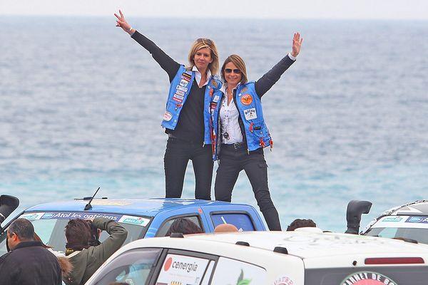 Mars 2015 : Top départ de la 25ème édition du Rallye des Gazelles en direction du Maroc