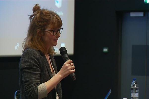 Anaïs Condamines, journaliste web victime de cyberharcèlement témoigne à Tulle