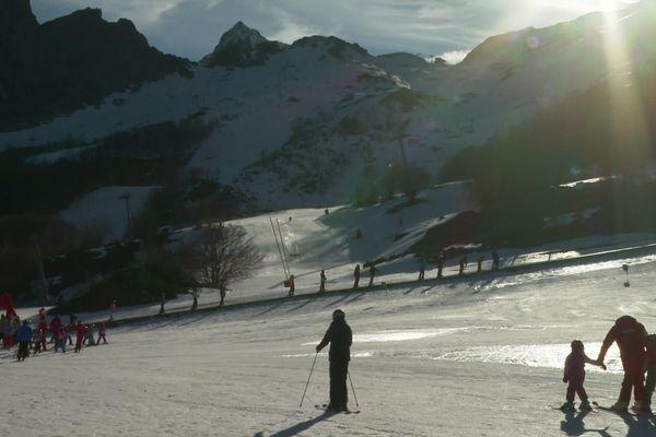 De la neige et du soleil à Gourette pour Noël !