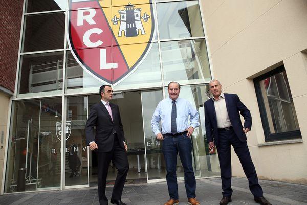 Ignacio Aguillo, Gervais Martel et Alain Casanova en juin 2016.