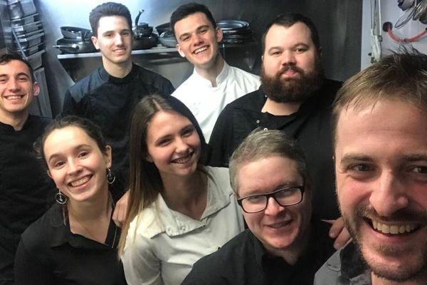 L'équipe de l'accolade, restaurant crée par Pierre Lefebvre en 2014
