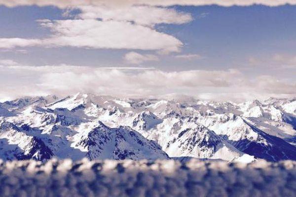 Vue des sommets