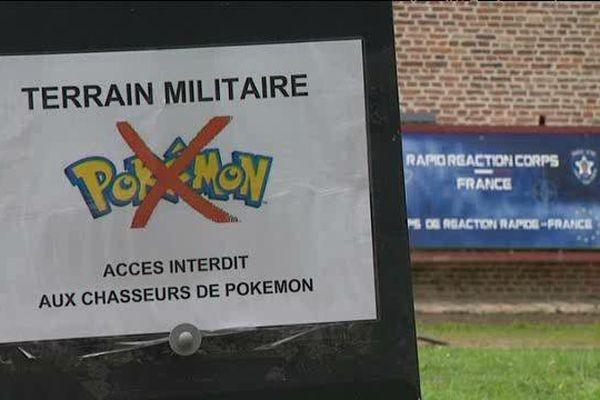 La Citadelle de Lille, site militaire, veut éloigner les chasseurs de Pokémon.