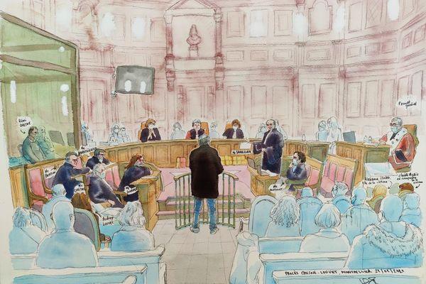 Le procès de l'assassinat de la grotte sanglante de Sète devant la Cour d'Assises de l'Hérault - janvier 2021.