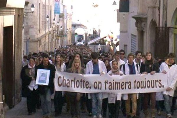 Le 12 janvier 2012, une première marche blanche avait rendu hommage à Charlotte Landais