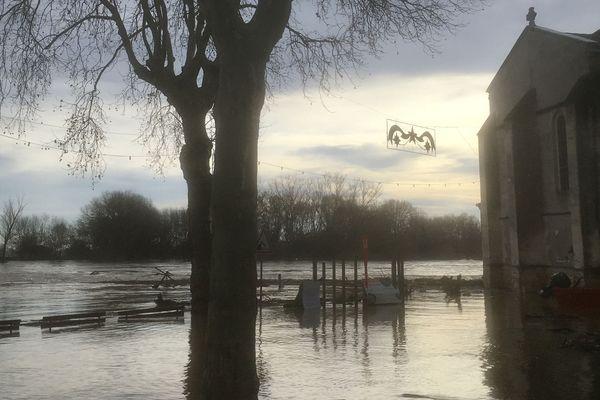 Couthures sur Garonne le 16 décembre dernier (illustration).