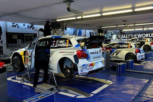 Le stand Volkswagen