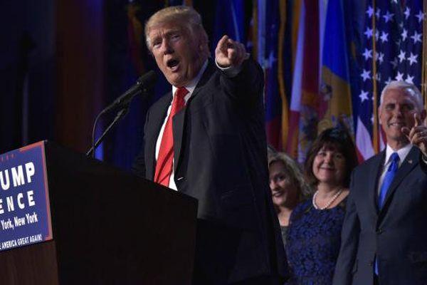 le républicain Donald Trump sera le 45eme président des Etats Unis d'Amérique