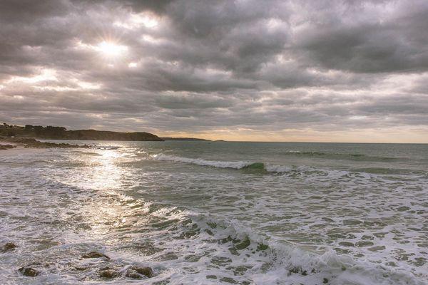 50 nuances de gris sur la plage de Plévenon-Cap Fréhel (22)