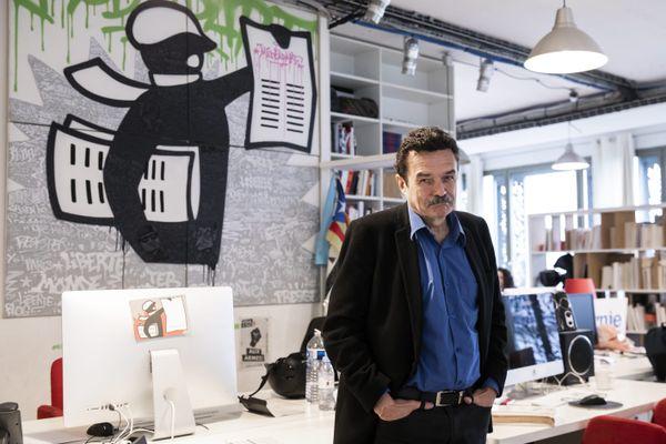 Le directeur de la publication de Mediapart Edwy Plenel doit comparaître mardi 19 janvier devant le tribunal judiciaire de Lyon pour diffamation